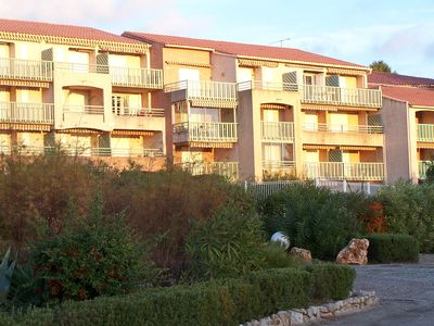 Photo for Studio cabin, sea view in Agay, 2 * for 2 adults + 2 children