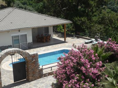 Photo for Luxury detached villa with own floodlit pool and terrace and stunning views