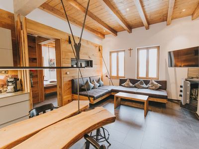 Photo for Luxus-Chalet   am Fluss Schwarzach