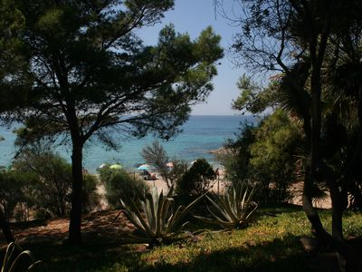 Photo for Holiday house with sea view only 10 m from the beach