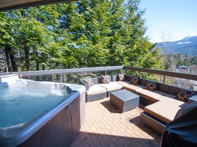 Photo for Ironwood 101 - Deluxe Blueberry Condo with Private Hot Tub and Mountain Views