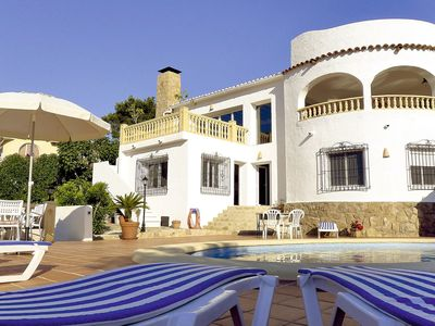 Photo for Beautiful private villa for 12 people with WIFI, private pool, A/C, TV and parking