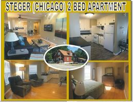 Photo for 2BR Apartment Vacation Rental in Steger, Illinois