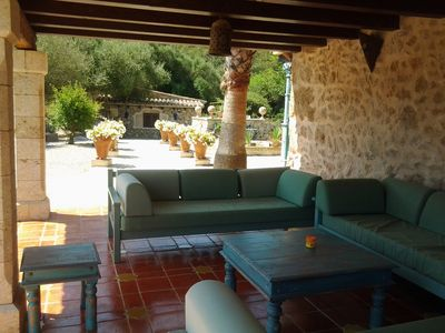 Photo for Country House with Private Pool, Gardens, Sea & Mountain View for 4 people