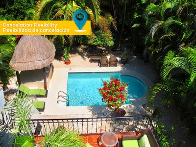 Photo for 2 BDRM Private pool house - Playacar Phase 2
