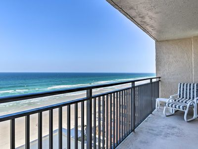 Photo for NEW! Oceanfront Condo w/ Views + Tennis Courts!