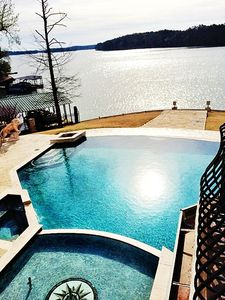 Photo for Majestic Mediterranean Estate with Elevator on Private Point on Lake Hamilton