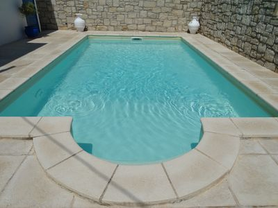 Photo for Beautiful villa in chania crete with private pool in a quiet with a super