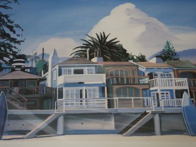 Photo for The Blue Beach House - on the Sand at Miramar Beach,Montecito