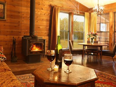 Newly Renovated Cabin at the Start of the SI Wine Trail