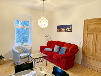 Photo for Modern cozy apartment on the ground floor with garden in Dresden