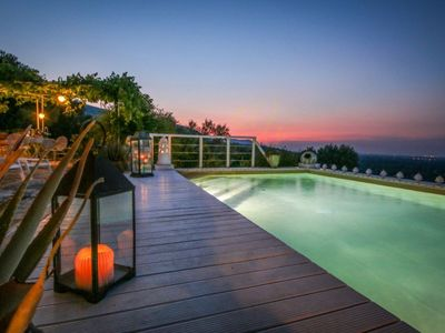 Photo for CASA TORCHIANOCharming Dimora with pool with seaview