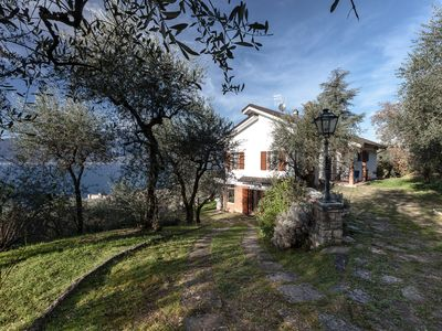 """Photo for VILLA """"I GELSOMINI"""" LAKE GARDA, spectacular view, with garden - 11 people"""