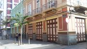Guesthouse in antique Spanish building in city center.