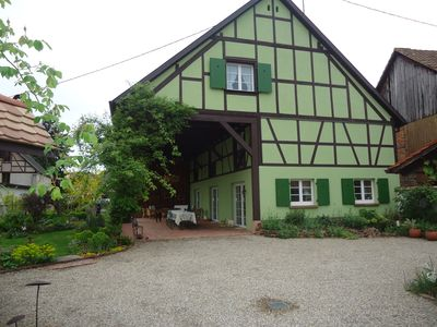Photo for La Grange Verte - Cottage for 10 people in the center of Alsace