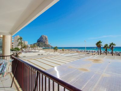 Photo for Ines-1 - oceanfront apartment in Calpe