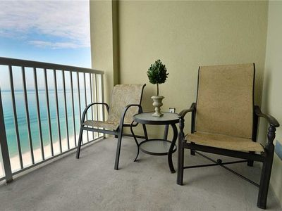 Photo for Grand Panama 1302 - Tower I, 2 Bedrooms, Sleeps 8, Beachfront, Pool, Wi-Fi, Pet-Friendly