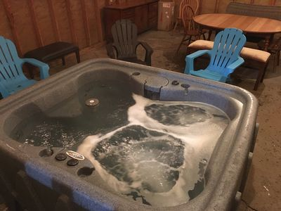 Photo for Franconia Notch Retreat by the river: with new Jacuzzi