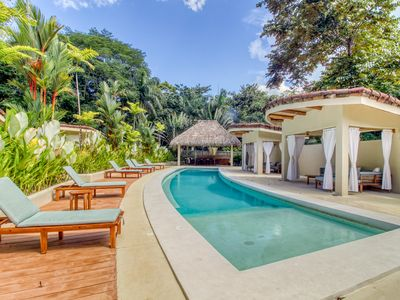 Photo for Unique, secluded villas surrounded by nature w/ a shared pool in Manuel Antonio!