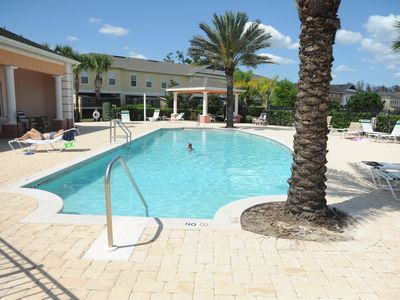 Photo for Orlando Area Vacation Lakefront Townhouse In Private Resort Close To Everything!