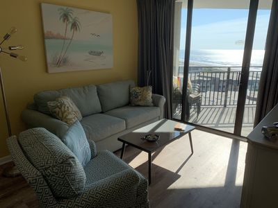 Photo for Gorgeous, Completely Remodeled One Bedroom Ocean View Condo On The Golden Mile