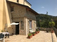 Nice little house in a charming old building with wonderful terrace and great views