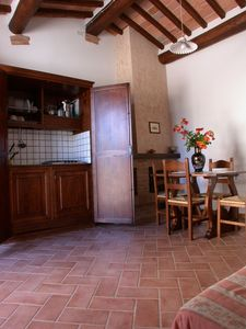 Photo for Tuscany: farmhouse with swimming pool in the heart of Valdorcia, Apartment 4 + 2