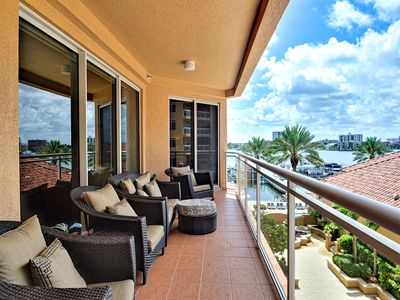 Photo for Belle Harbor 407M Luxury Clearwater Beach Condo