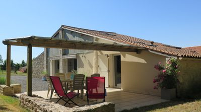 Photo for At the heart of the Marais Poitevin cottage for 3-5 people