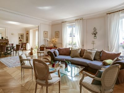 Photo for GORGEOUS APARTMENT / EIFFEL TOWER (2,300 sq ft)
