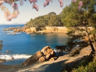 Photo for Saint Raphael (Boulouris) 2 minutes from the beach walk WIFI and Parking