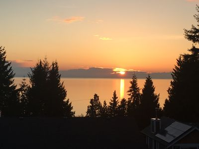 See amazing sunsets from your suite with covered patio