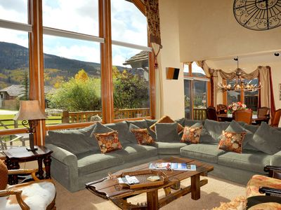 Photo for Perfect for families, private hot tub w/great Vail views, skier parking included