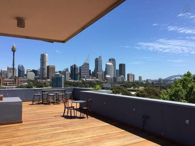 Photo for Potts Point Terrace Apartment with City View