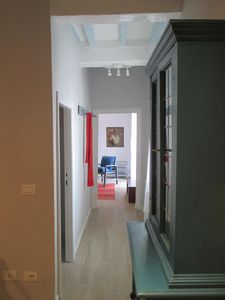 Photo for Stylish two- bedroomed apartment with large terrace - 10 minute walk to Duomo.