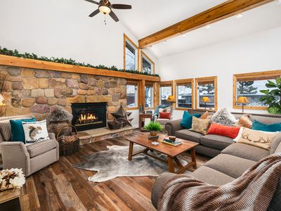 Photo for APRIL DEAL!!Spacious Canyon Racquet condo w/Private HOT TUB on huge private deck