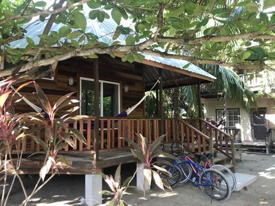 Photo for Peaceful Garden Cabin Located in the Lush Island Jungle of Caye Caulker