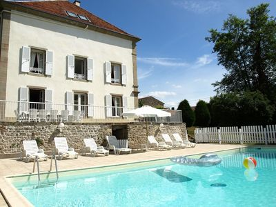 Photo for Lovely apartment for 15 guests with private pool, WIFI, TV and parking