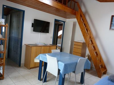 Photo for COMFORTABLE APPT 2 PIECES - ARZON- 100m from the beach