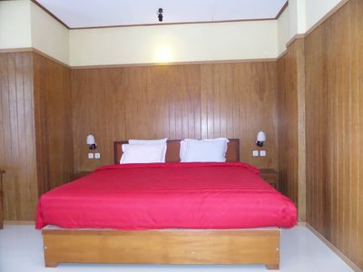 Photo for Red Double Bedroom near active volcano Bromo