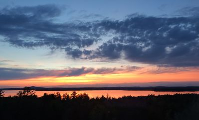 Photo for Stunning Sunsets and Ocean Views in Bar Harbor