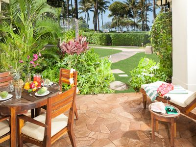 Photo for SPRING RATES ARE REDUCED! Ocean View and Beachfront Beach Level 3 Bedroom 110