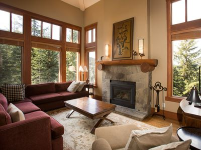 Photo for Amazing Views from this Whistler 4 Bedroom Ski In Ski Out Duplex