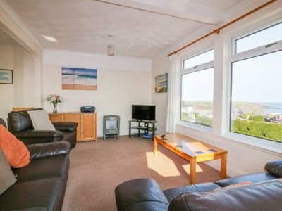 Photo for 4 Star Apartment with Stunning Sea Views just 200 meters from Harlyn Bay Beach