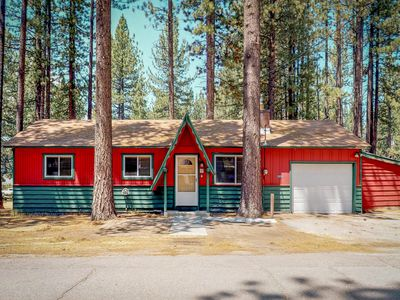 Photo for NEW LISTING! Cozy, dog-friendly cabin w/ a private grill - minutes from the lake