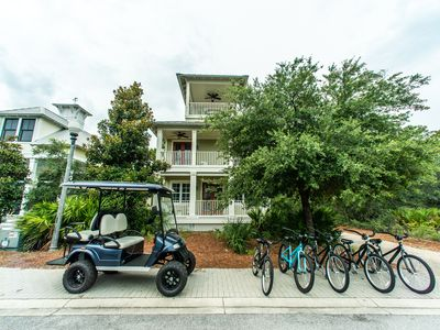 Photo for 5th Night Free thru Dec 31st!* Golf Cart & Five Bikes Included! ~ Grayt Expectations at Grayton Beac