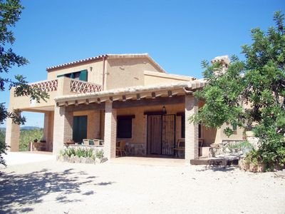 Photo for Mas de Forastera. A traditional casa de campo spanish 1.5 km from the beaches