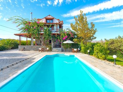 Photo for Villa Zoi with heating pool