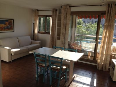 Photo for Antibes center - Large studio 5 minutes from the beaches, shops, railway station