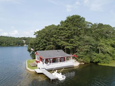 Photo for Peaceful, tranquil and entirely unique lakefront retreat